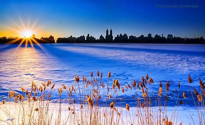 TP Starburst sunset CP reservoir 2 28 15