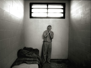 Youth in solitary confinement
