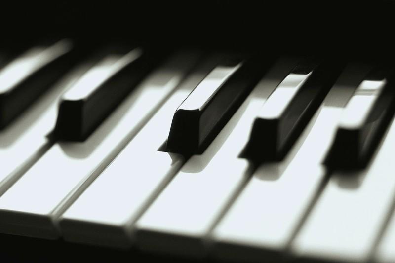Keyboard Keys Close Up ca. 2001