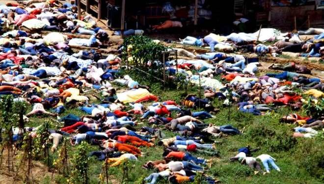 Jim Jones, Jonestown massacre