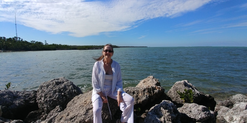 At the cove in Islamorada