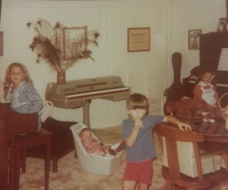 Music room 1980
