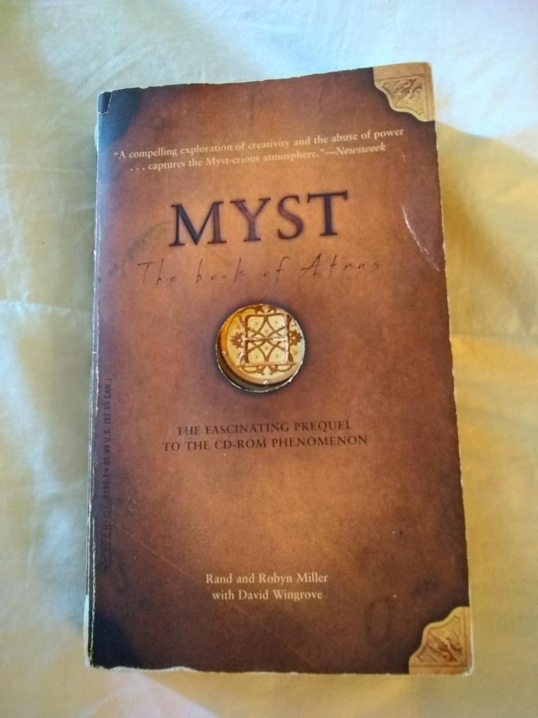 Myst book of Atrus