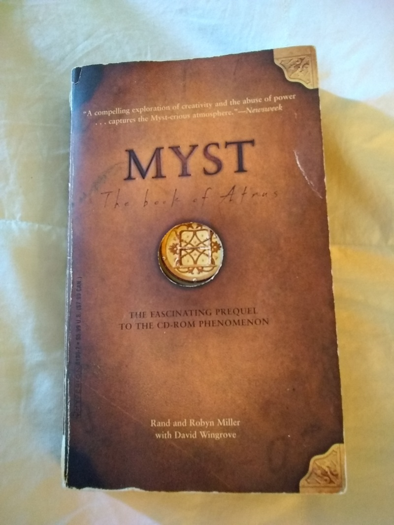 Myst book of Atrus